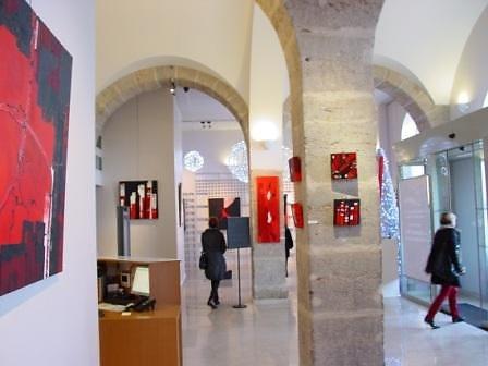 Exposition Atrium de la mairie de Caluire