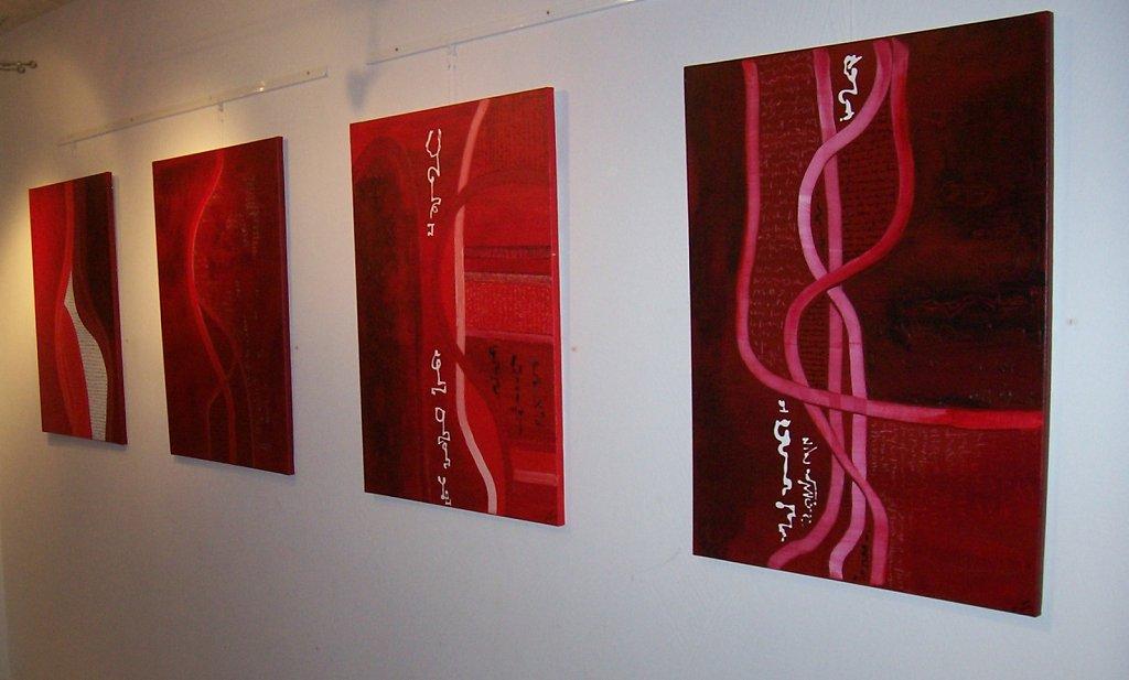 4 calligravies 60x81